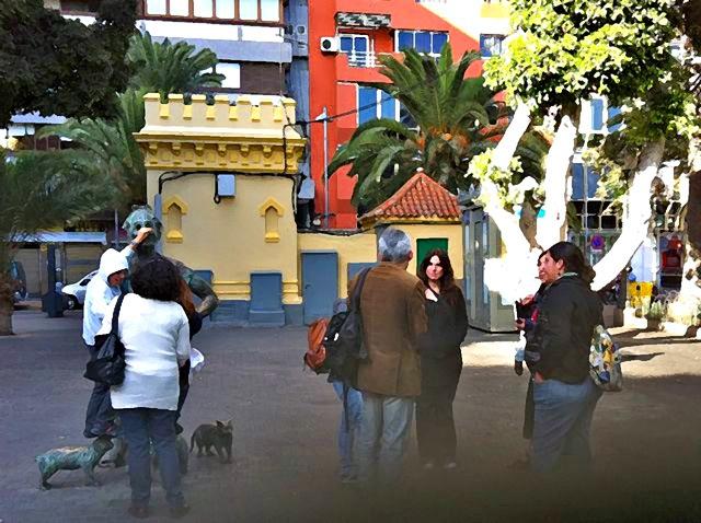 04. Parque Santa Catalina - Grupo antes de empezar